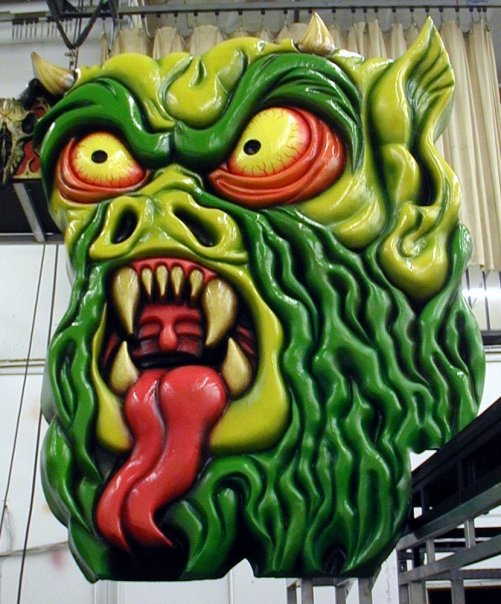 R. Zombie stage prop for Wayne Toth